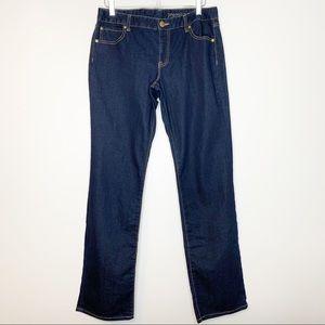 GAP Mid Rise Premium Curvy Straight Jean 12/31L